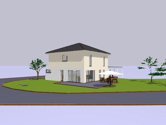 haus kaufen coesfeld neubau einer schicken stadtvilla als kfw effizienzhaus 55 in. Black Bedroom Furniture Sets. Home Design Ideas