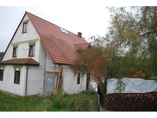Haus kaufen Roth Rohbauhaus mit Fenstern und
